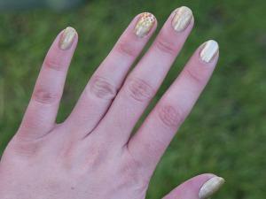 Olympic Torch Nail Art!