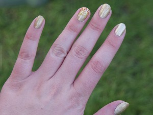 Olympic Torch Nail Art!