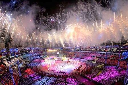 The Closing Ceremonies for the 2006 Turin Olympics
