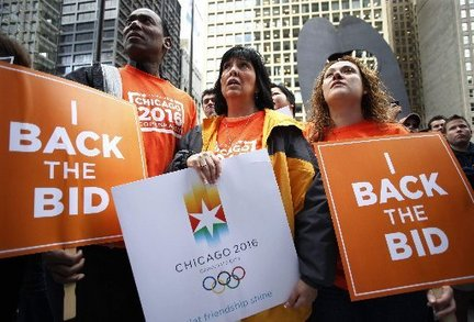 Chicago Olympics 2016, eliminated on Friday, Oct. 2, 2009 (AP Photo)
