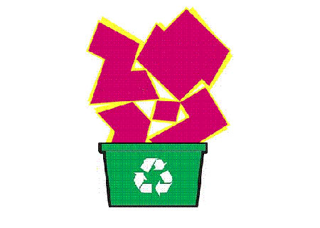 Recycling a Logo