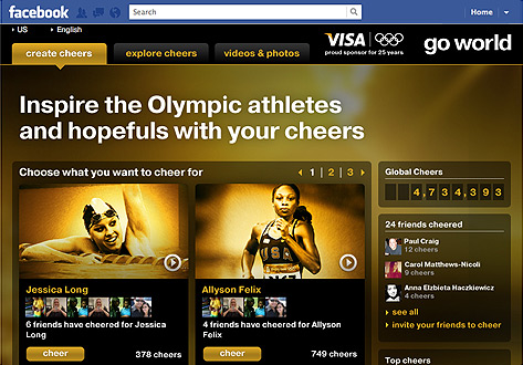 Visa-Cheer-Facebook-app